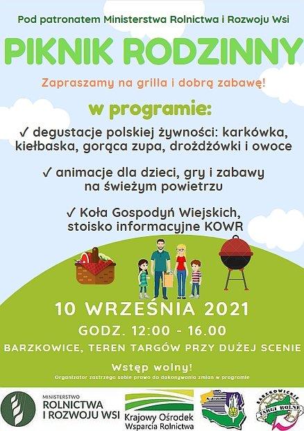 Piknik Rodzinny w Barzkowicach